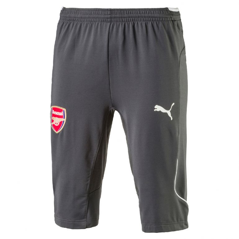 Pantalon survêtement 3/4 Arsenal gris 2017/18