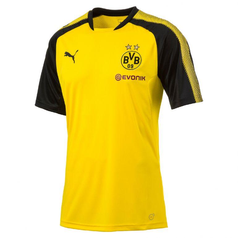Maillot entraînement Dortmund jaune 2017/18