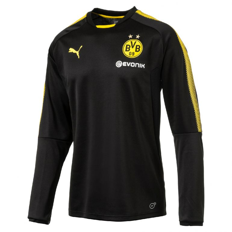 Sweat junior Dortmund noir 2017/18