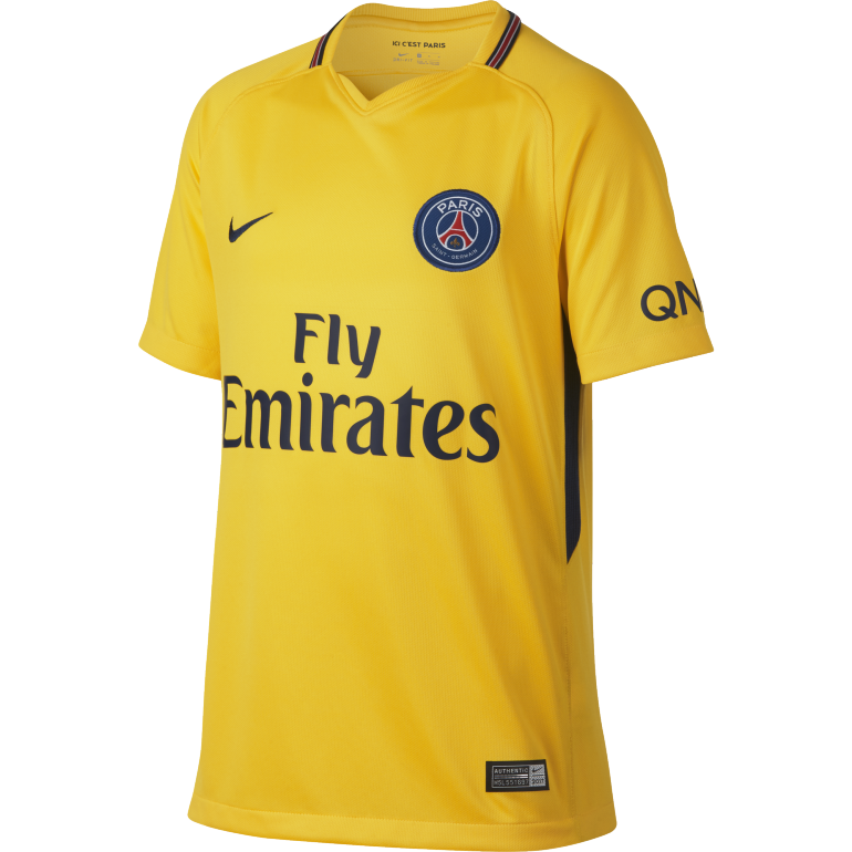 Maillot junior PSG extérieur 2017/18