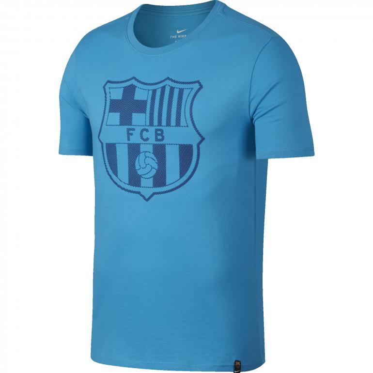 T-shirt FC Barcelone bleu ciel 2017/18