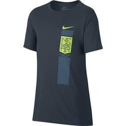 T-shirt junior Neymar bleu 2017