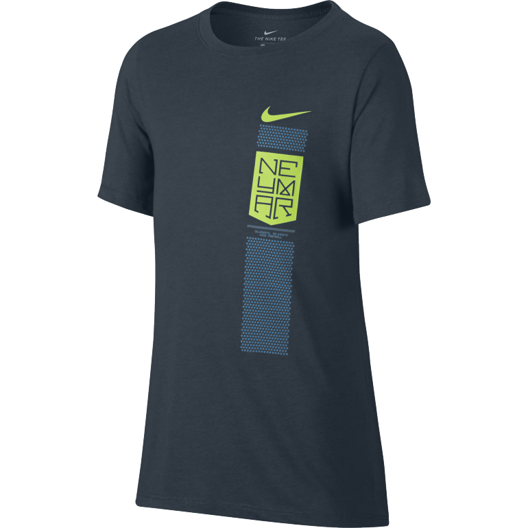 T-shirt junior Neymar bleu 2017