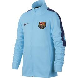 Veste survêtement junior FC Barcelone bleu ciel 2017/18