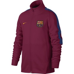 Veste survêtement junior FC Barcelone rouge 2017/18