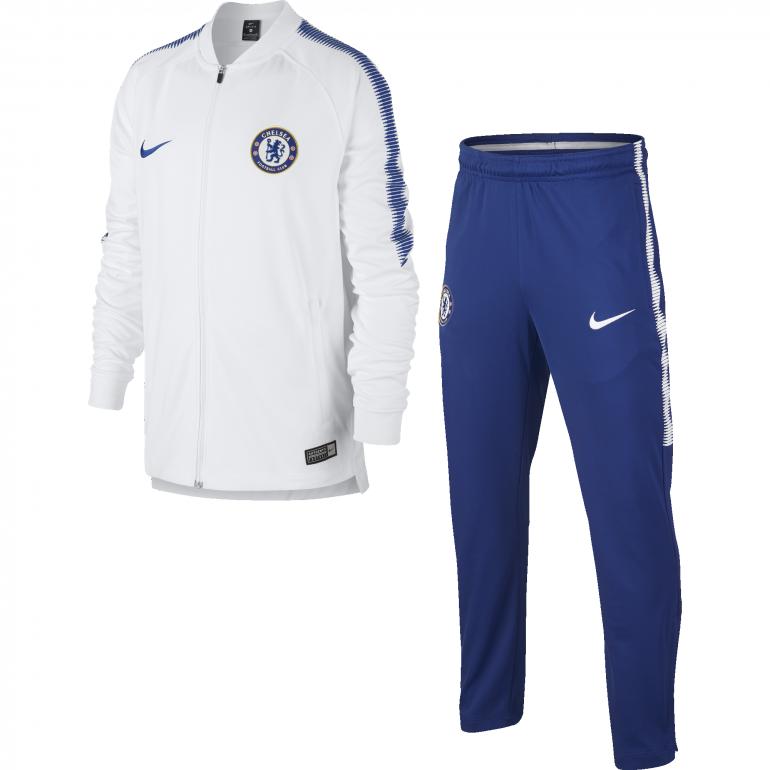 Survêtement Junior Chelsea blanc 2017/18