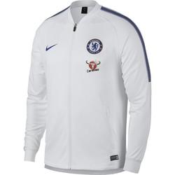 Veste survêtement Chelsea Squad blanc 2017/18