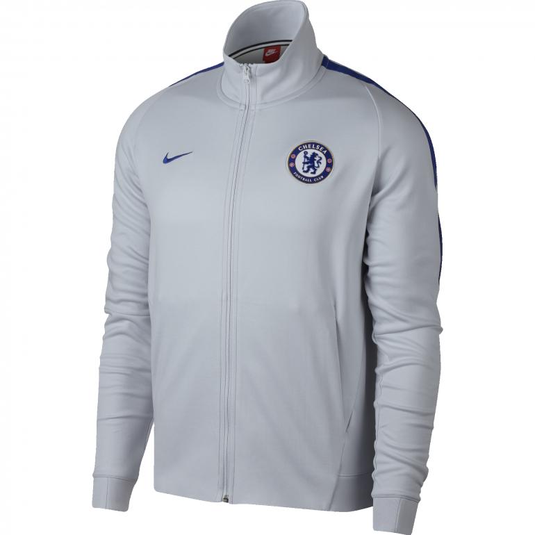 Veste survêtement Chelsea gris 2017/18