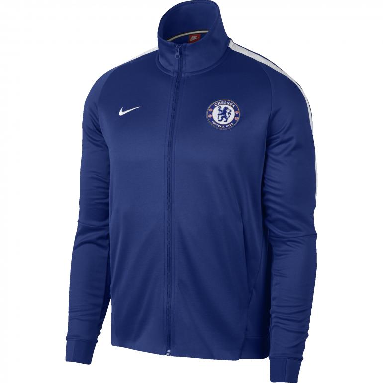 Veste survêtement Chelsea bleu 2017/18