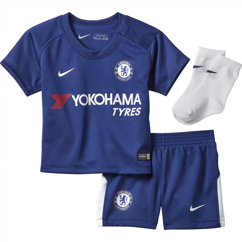 Tenue bébé Chelsea domicile 2017/18