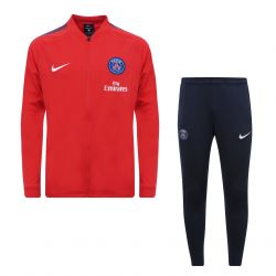 Ensemble survêtement junior PSG rouge 2017/18