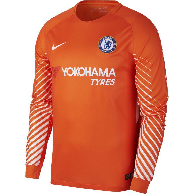 Maillot gardien Chelsea orange manches longues 2017/18