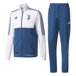 Ensemble survêtement Juventus blanc bleu 2017/18