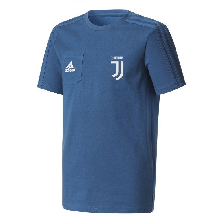 T-shirt junior Juventus bleu foncé 2017/18