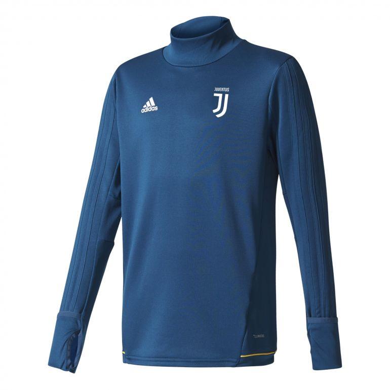Sweat entraînement junior Juvetnus bleu foncé 2017/18