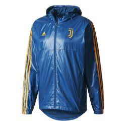Coupe vent Juventus bleu 2017/18