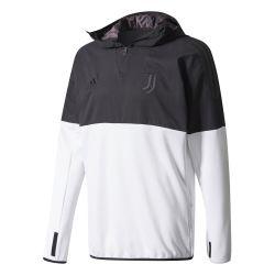 Sweat Juventus Hybrid noir blanc 2017/18
