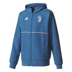 Veste survêtement junior Juventus bleu foncé 2017/18