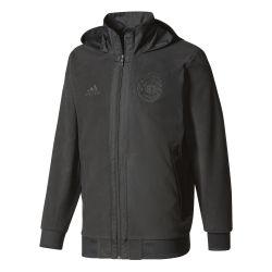 Veste survêtement Manchester United SSP noir 2017/18