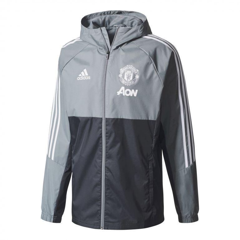 Veste imperméable Manchester United gris 2017/18