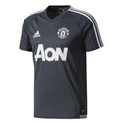 Maillot entraînement Manchester United noir gris 2017/18