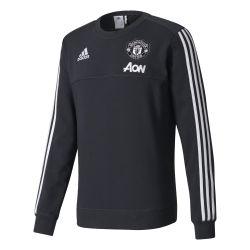 Sweat Manchester United noir gris 2017/18