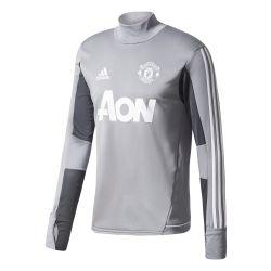 Sweat entraînement Manchester United gris 2017/18
