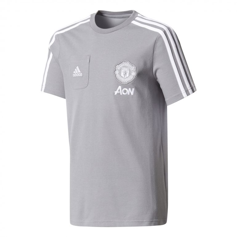 T-shirt junior Manchester United gris 2017/18