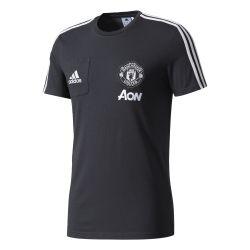 T-shirt Manchester United noir gris 2017/18