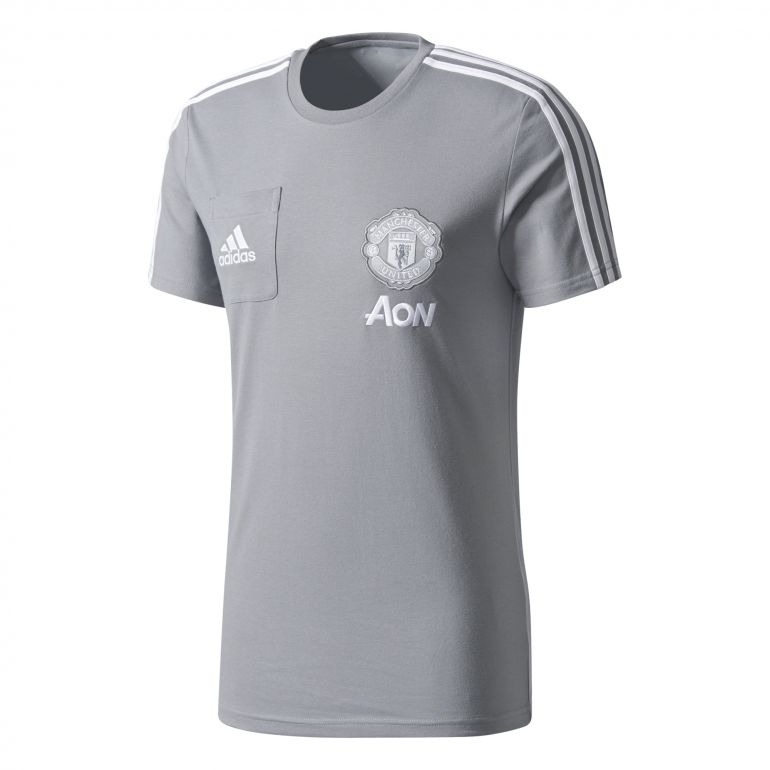 T-shirt Manchester United gris 2017/18