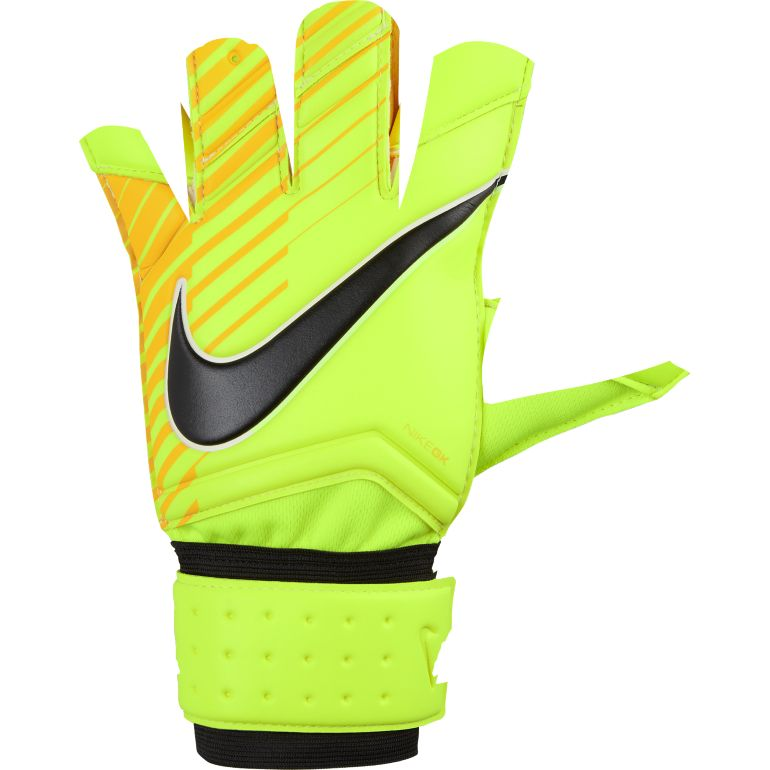 Gants Gardien Nike jaune 2017