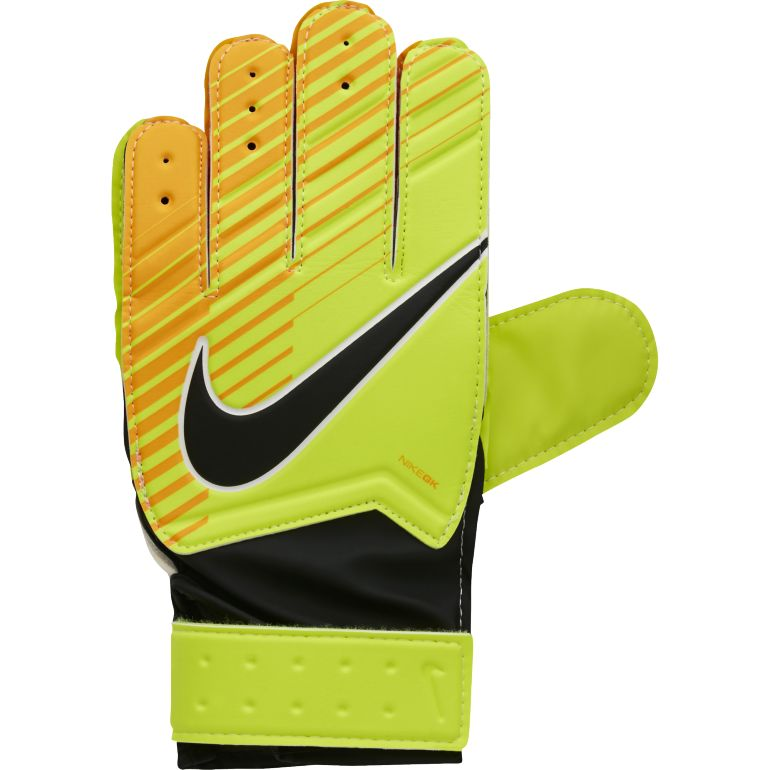 Gants Gardien junior Nike jaune 2017