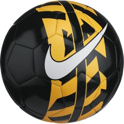 Ballon Nike React noir jaune 2017