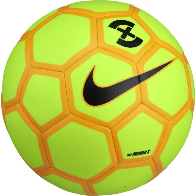 Ballon Nike Menor X jaune 2017