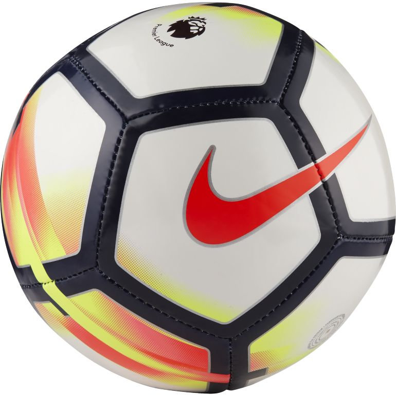 Mini ballon Premier League blanc rouge 2017