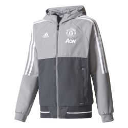 Veste survêtement junior Manchester United gris 2017/18