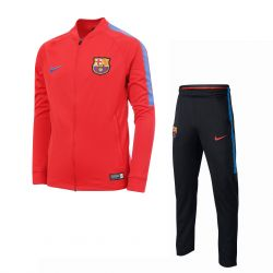 Ensemble survêtement junior FC Barcelone rouge 2017/18