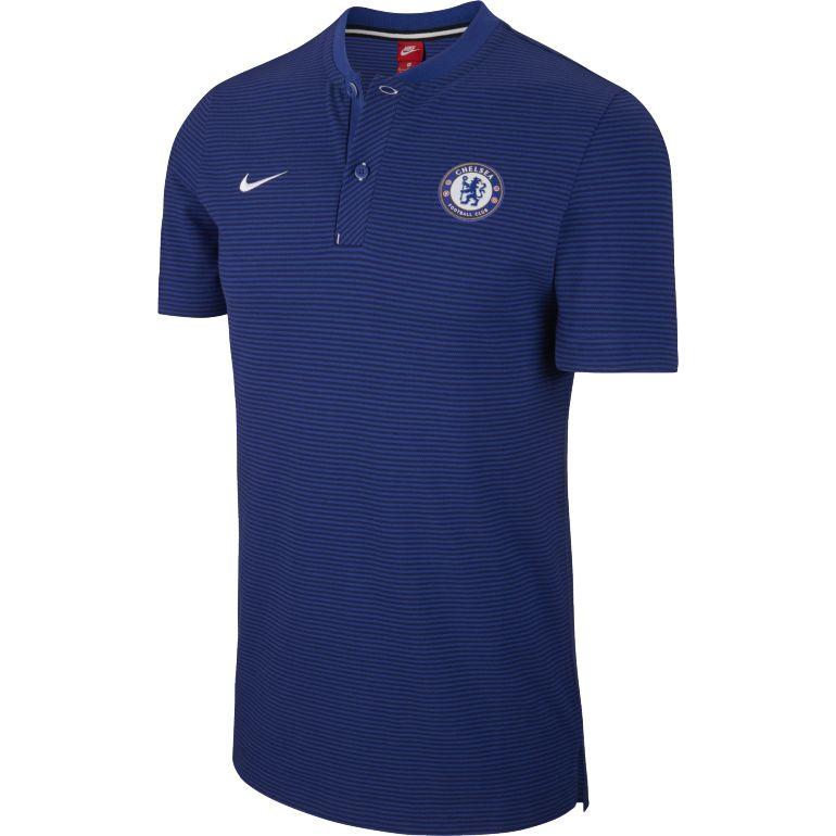 Polo Chelsea authentique bleu 2017/18