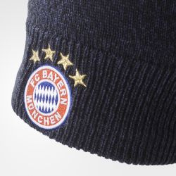 Bonnet Bayern Munich noir 2017/18