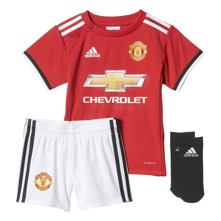 Tenue bébé Manchester United domicile 2017/18