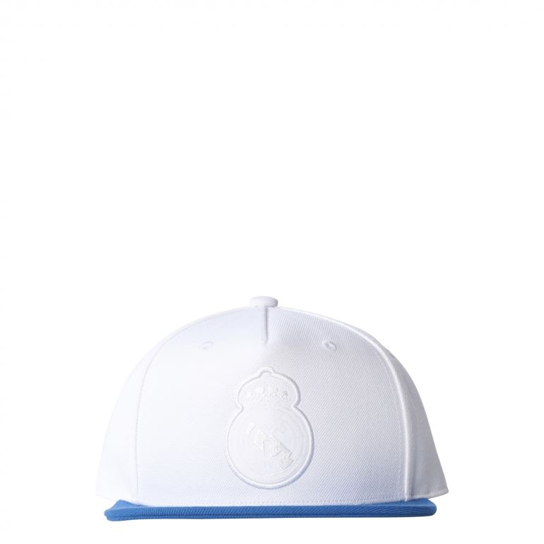 Casquette visière plate Real Madrid blanc 2017/18
