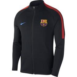 Veste survêtement FC Barcelone technique noir 2017/18