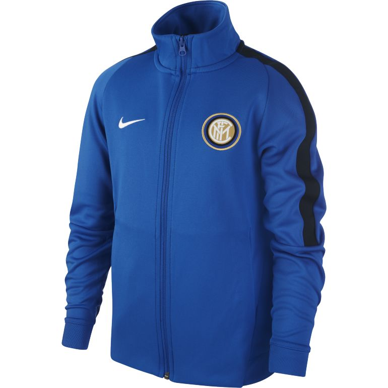 Veste survêtement junior Inter Milan bleu 2017/18
