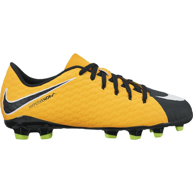 Hypervenom Phelon III junior moulés orange