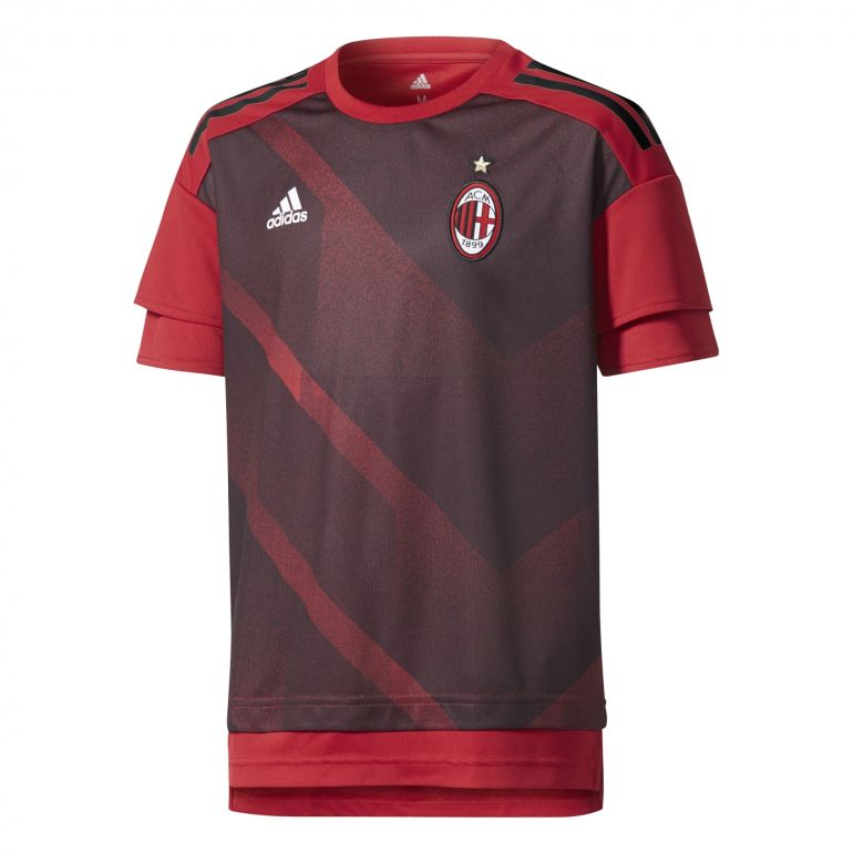 Maillot avant match junior Milan AC 2017/18