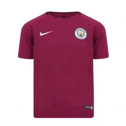 Maillot entraînement junior Manchester City mauve 2017/18