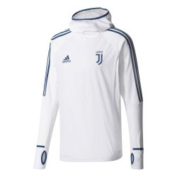 Sweat à capuche Juventus blanc 2017/18