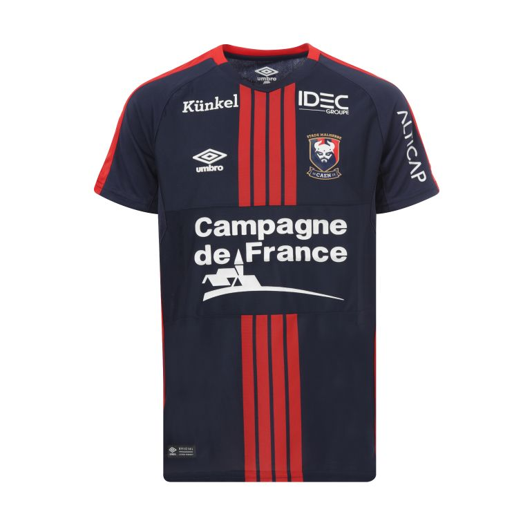 Maillot junior SM Caen domicile 2017/18