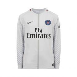 Maillot gardien junior PSG manches longues gris 2017/18