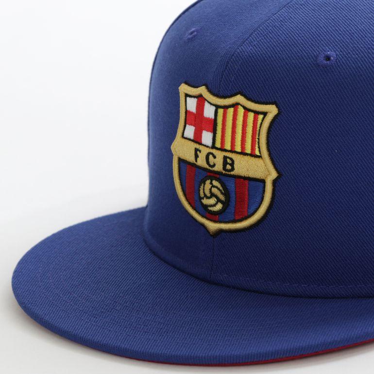 Casquette visière plate FC Barcelone bleu 2017/18